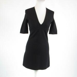 Bardot black 1/2 sleeve dress 4 XS